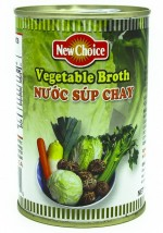 New Choice Vegetable Broth 14 oz