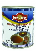 "New Choice ""Pho"" Flavored Beef Broth 28 oz"