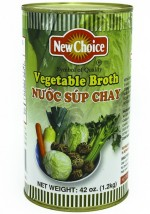 New Choice Vegetable Broth 46 oz