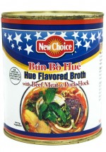 "New Choice 28 oz ""Hue"" Flavored Broth with Beef Meat & Pork Hock"