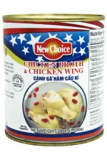 New Choice 28 oz Chicken Broth & Chicken Wing